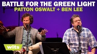 Patton Oswalt and Ben Lee - 'Battle For the Green Light' - Wits Game Show