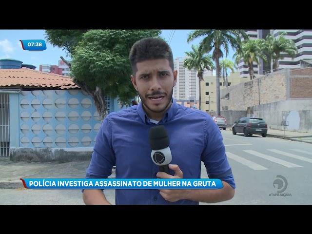 Polícia prende casal suspeito de assassinar mulher no bairro da Gruta
