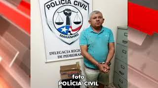 PEDREIRAS: Operação da Polícia Civil prende suspeito de tráfico de drogas no bairro Goiabal.