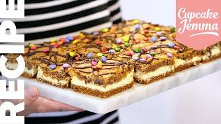 Incredible Baked COOKIE CHEESECAKE!   Cupcake Jemma