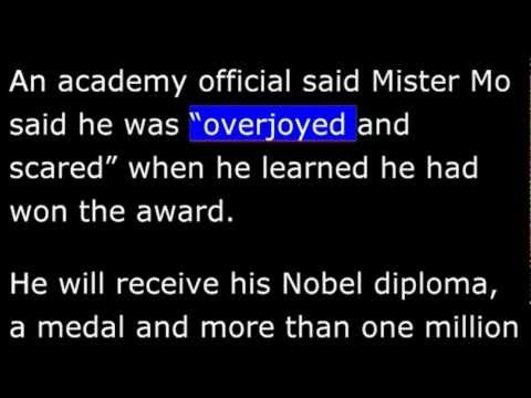 Biography - YM - Mo Yan - 2012 Nobel Prize for Literature -