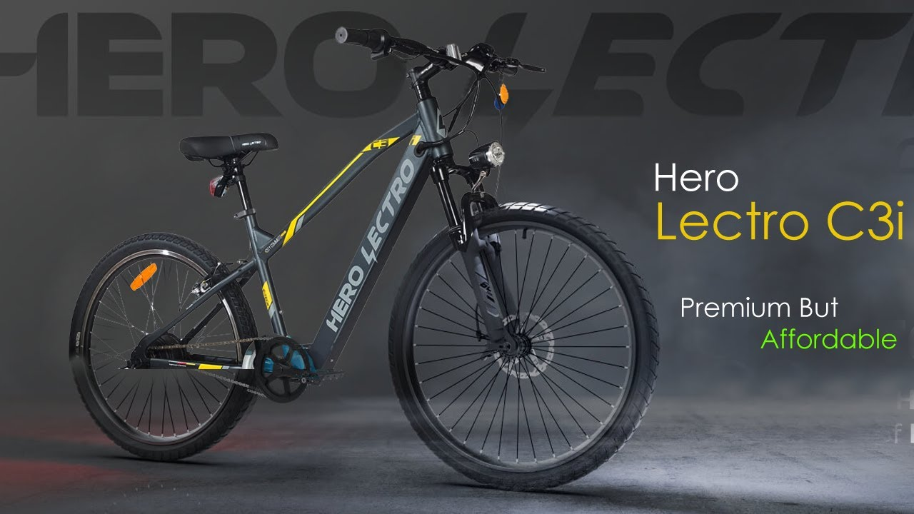 Download HERO LECTRO C3i A Premium But Affordable Electric Bicycle | Everything You Need To Know | InfoTalk