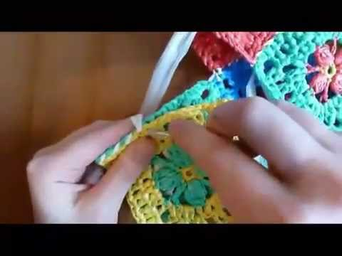 как связать красивый коврик из полиэтиленовых пакетов сайт для