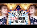 SERIOUSLY CHEAP B&M HOME WEAR HAUL!!