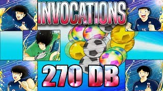 INVOCATIONS WORLD CUP Ken + Hyuga ! Captain Tsubasa Dream Team