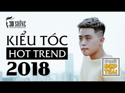 Kiểu Tóc Hot Trend 2018 | 30Shine Bí Quyết Đẹp Trai 32