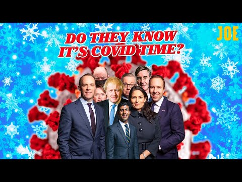 Do They Know It's Covid Time? - Boris Johnson and the Superspreaders song