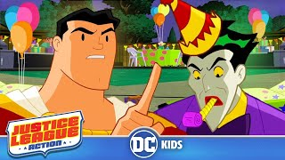 Justice League Action  Clown Party  DC Kids