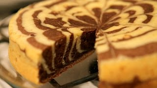 #8 Как испечь торт зебру. Рецепт пирога зебры