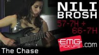 """Emg artist nili brosh stopped by emgtv to perform her debut single """"the chase"""" from album """"spectrum"""". demonstrates the extreme versatility of em..."""