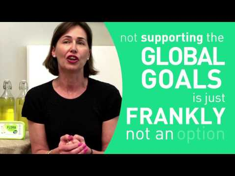How is Amanda Sourry taking action on the Global Goals?