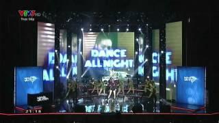 BÀI HÁT YÊU THÍCH THÁNG 01/2015: DANCE ALL NIGHT - HỒ NGỌC HÀ [FULL HD]