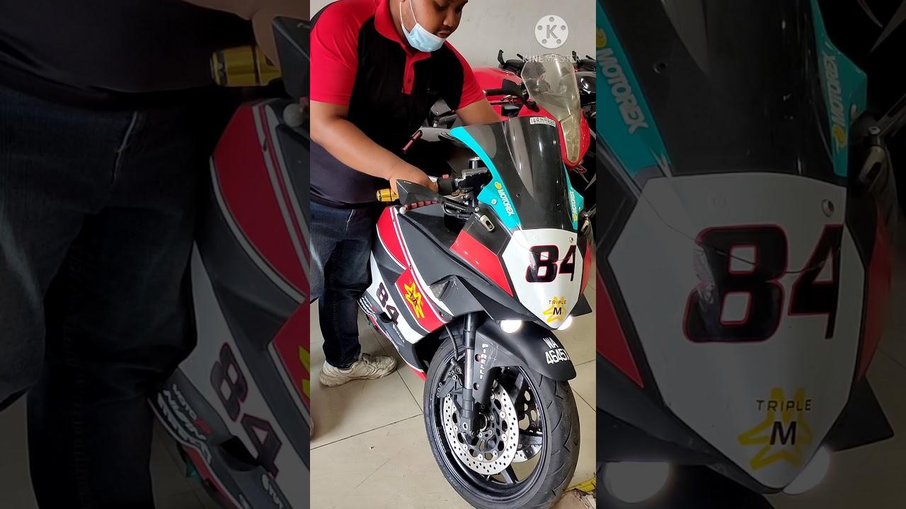 Hyosung 650 gtr / naza blade 650  Malaysia modified/sc project exhaust ..superbike murah harga bajet