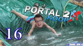 Portal 2 Koop ~ Farbrutschbahn ~ #16 [HD+][DEUTSCH]