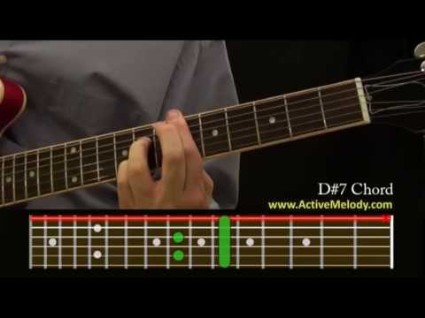 How To Play a D#7 (Sharp) Chord On The Guitar - YouTube
