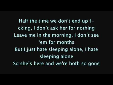 Drake - Hate Sleeping Alone (Lyrics On Screen) [NEW]