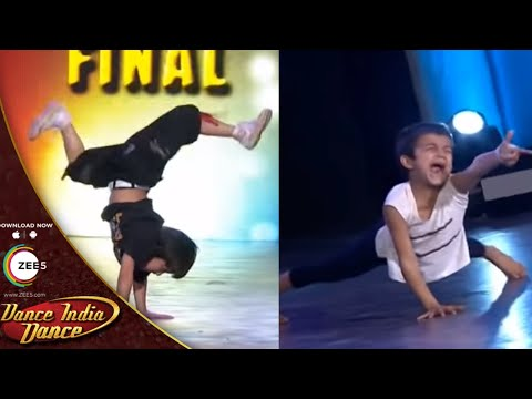 Sachin and Aman FINAL AUDITION Performance - DID L'il Masters Season 3