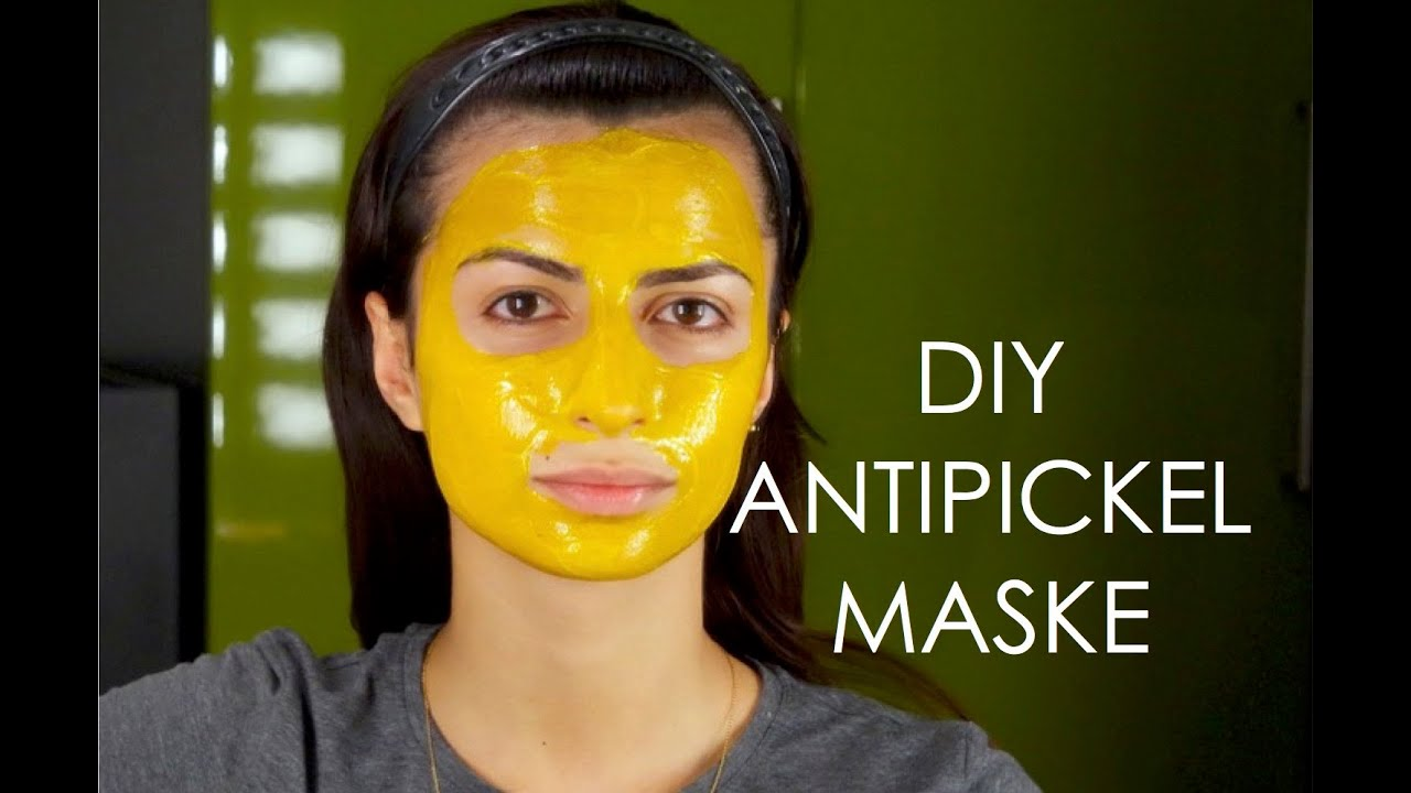 diy anti pickel akne mitesser maske selber machen heavensdream youtube