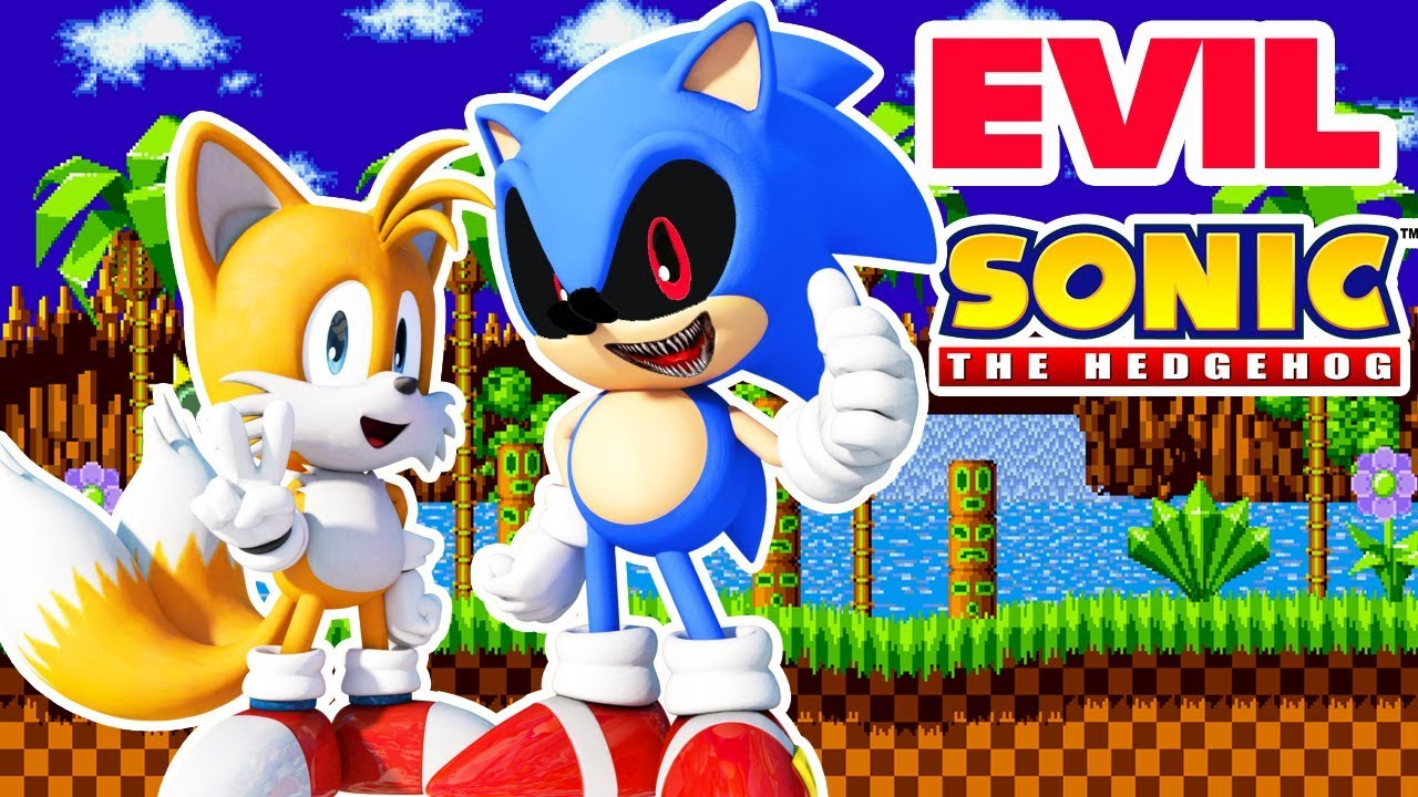 Evil Sonic Vs Tails Youtube
