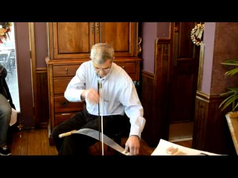 Singing Saw - Musical Saw - Summertime - Paul Gherson