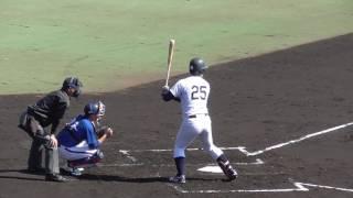 内野手 190センチ100キロ 左・左 1991年7月15日生まれ 【オープン戦/13...