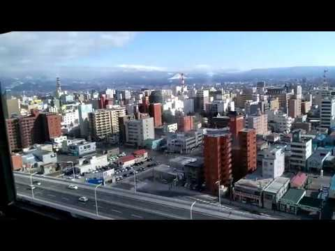 View of Aomori on top of Aomori Prefecture Tourist Center (ASPM)