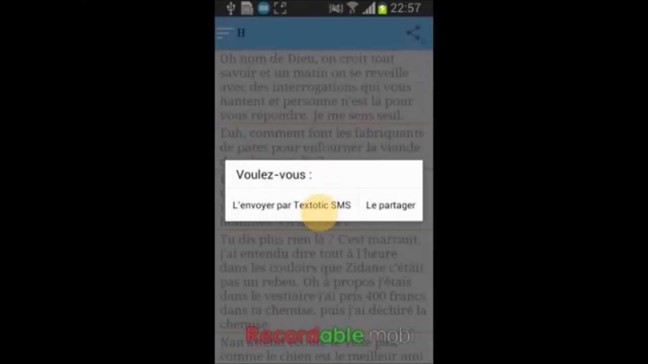 Très Programmer à l'avance l'envoi de vos sms avec Textotic - YouTube UU13