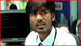 Yaaradi Nee Mohini Tamil Movie - Dhanush solves Nayanthara's problem in office