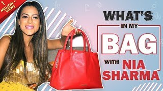 What's In My Bag With Nia Sharma | Bag Secrets Revealed | India Forums thumbnail