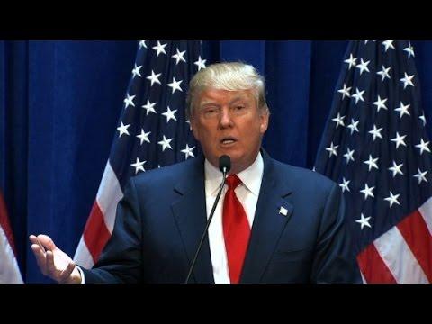 Donald Trump: I'm running for President