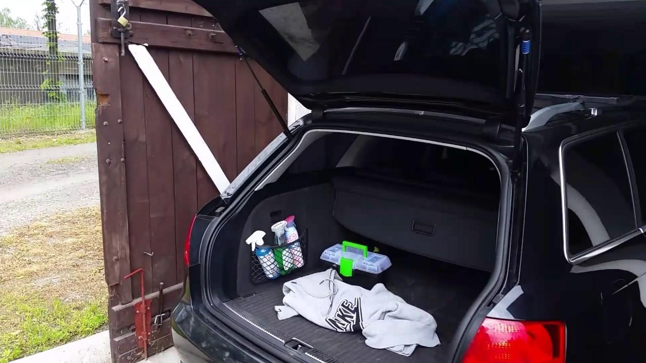 Automatyczne Otwieranie Klapy Bagażnika Audi A4 B7 Youtube