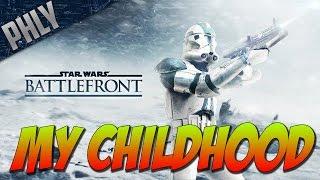 Star Wars Battlefront II- The Assualt On HOTH! The Nostalgia Runs DEEP :(