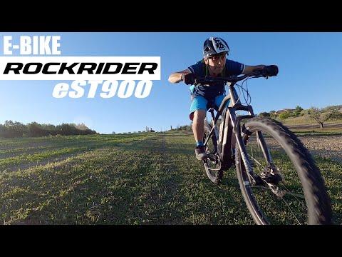 BICI ELETTRICA ROCKRIDER E-ST900 TEST E RECENSIONE