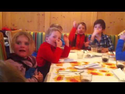 Arabba, pranzo dopo la scuola-sci