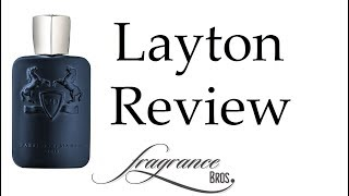 Layton by Parfums de Marly Review! Killer!