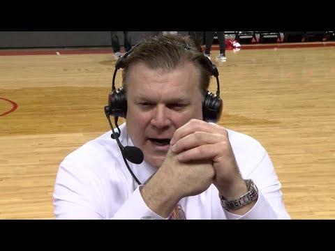 Brad Underwood Postgame Radio Interview at Nebraska 1/15/18