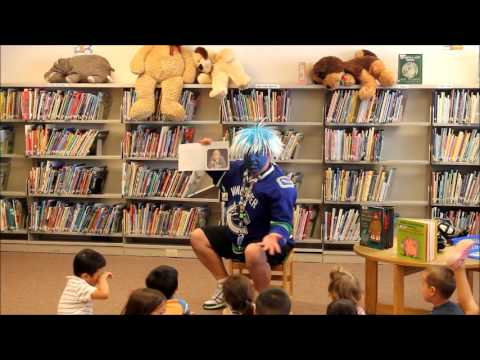 Andrew Crazy Canuck Story Time New Westminster UTUBE VERSION