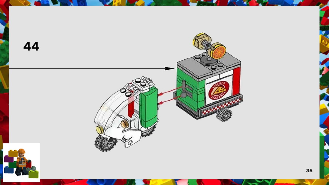 LEGO instructions - The Batman Movie - 70910 - Scarecrow ...