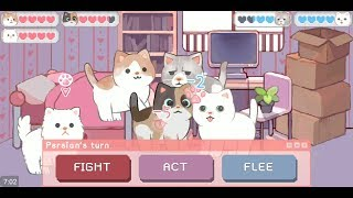 Wholesome Cats (by Angela He) - adventure game for android and iOS - gameplay.