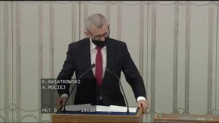 Krzysztof Kwiatkowski - wystąpienie z 12 stycznia 2021 r.