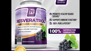 BRI Nutrition Resveratrol 1200mg Maximum Strength Supplement 30 Day Supply 60 Veggie Capsules