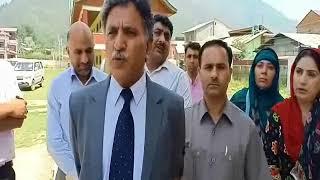 Visit of Advisor to Governor Khurshid Ahmad Ganaie to different Schools of Srinagar