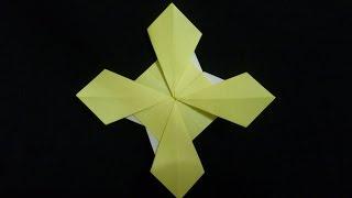 Cara Membuat Origami Bunga Jagung | Origami Bunga dan Tanaman
