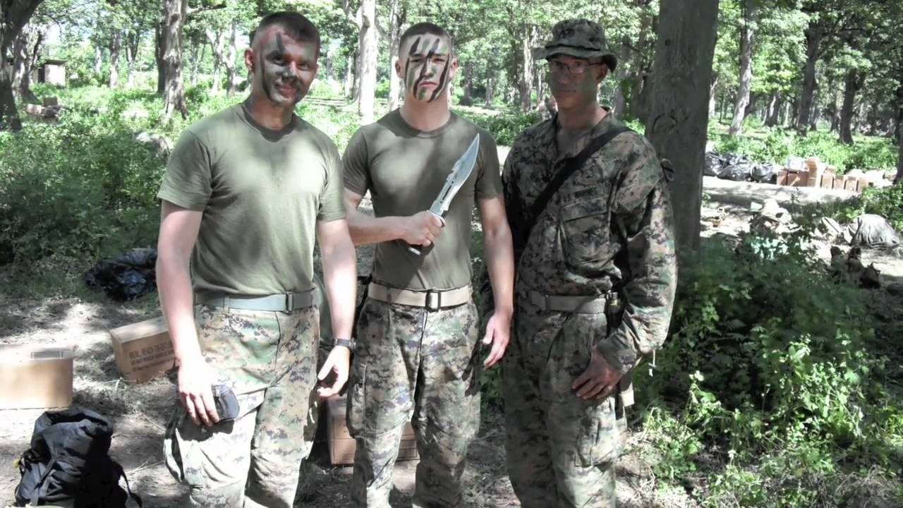 marine combat engineers from 1st ceb on the 15th meu - YouTube