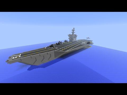 Minecraft 1.5.2: Aircraft Carrier (Nimitz Class)