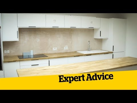 Installing a Kitchen; How to Build an Extension (15)