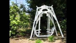 The Ultimate Garden Glider Swing.avi