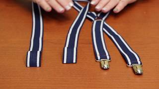 How To: Add Suspender Slides (For Adjustable Suspenders)
