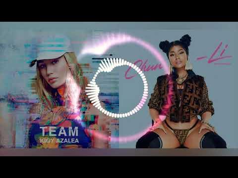 "Iggy Azalea & Nicki Minaj "" Team X Chun-Li | ' Team-Li (Mashup)"