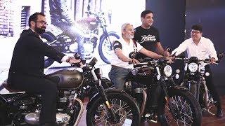 Bonneville Bobber India Launch - Teaser